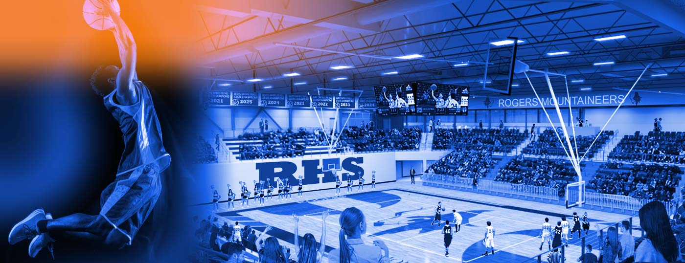 Rogers High School competition gym