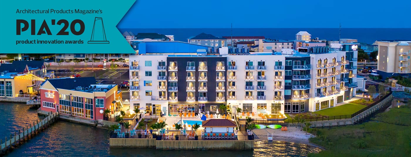 Aloft Hotel Ocean City Architectural Products Magazine PIA 20 Product Innovation Award