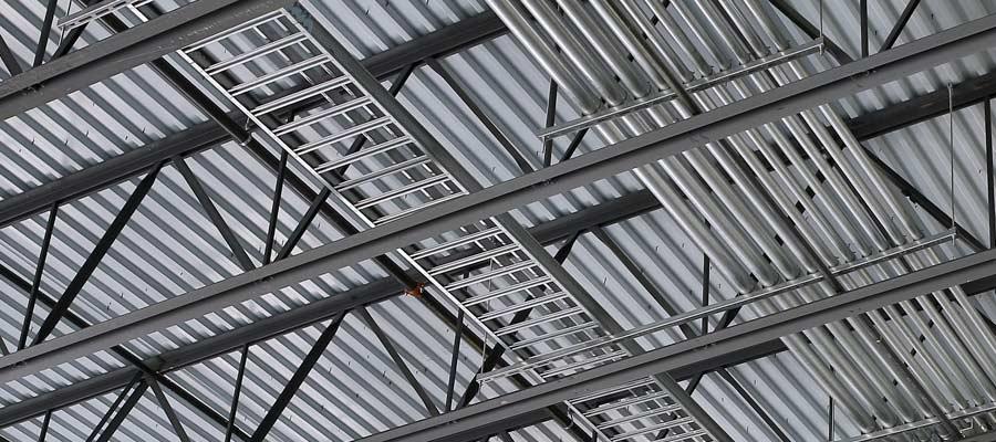MEP integration with steel joists