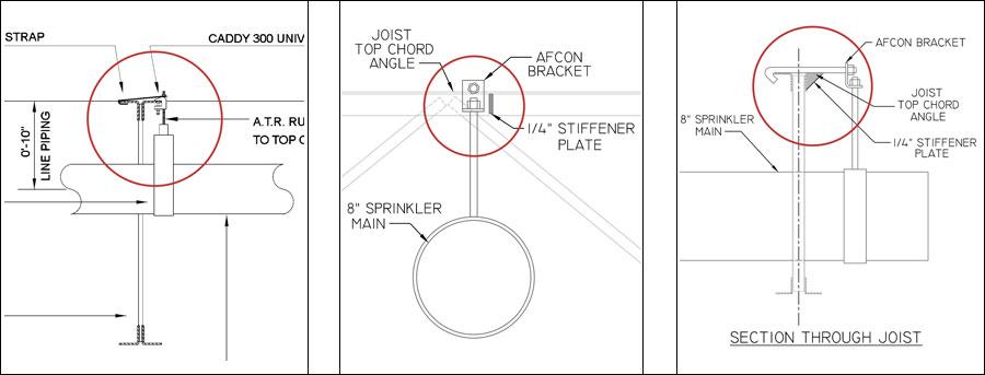 Sprinkler Drawing details