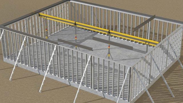 Vera-Dek® composite system drawing