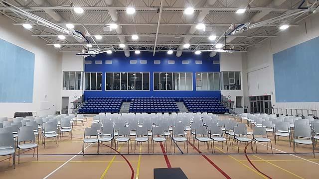 Grand Cayman School gymnasium