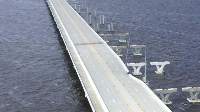 Pensacola Bay Bridge repair