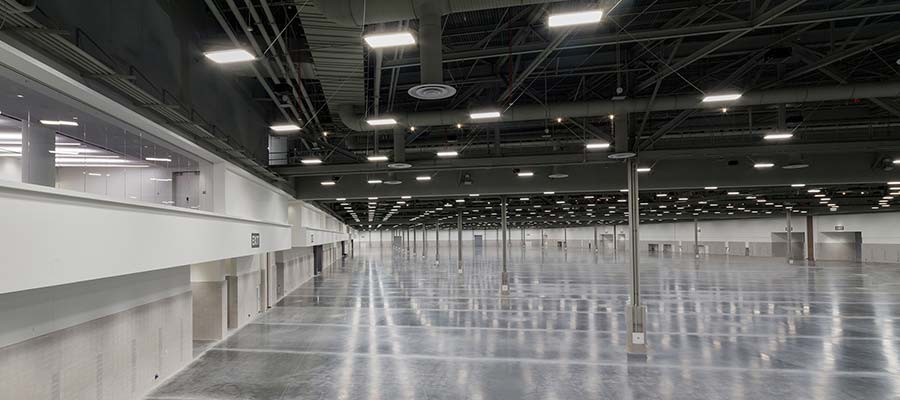 Las Vegas Convention Center West Hall Exhibit Hall
